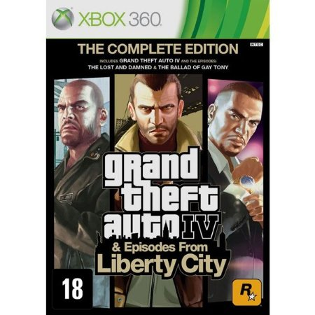 GTA 4: The Complete Edition - Xbox 360 (usado)