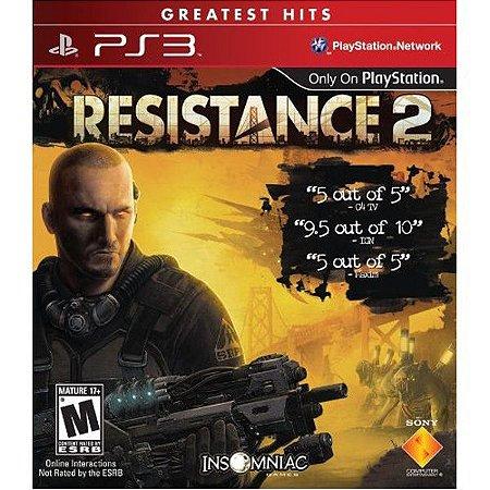 Resistance 2 Hits - PS3 (usado)