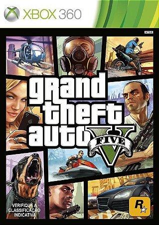 GTA V - Xbox 360 (usado)