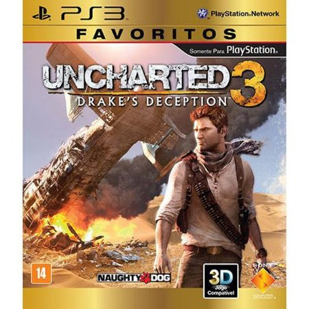 Uncharted 3: Drake´s Deception Favoritos - PS3