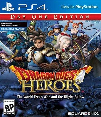 Dragon Quest: Heroes - PS4 (usado)