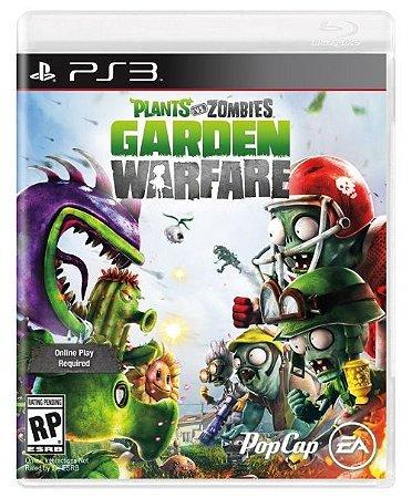 PS3 Plants Vs Zombies - Garden Warfare (usado)