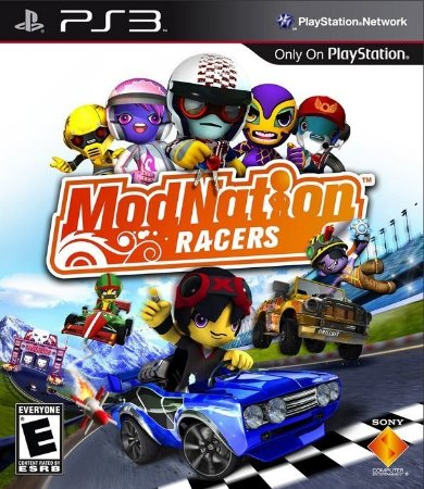 Modnation Racers - PS3 (usado)