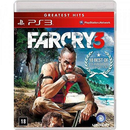 Far Cry 3 Hits - PS3 (usado)