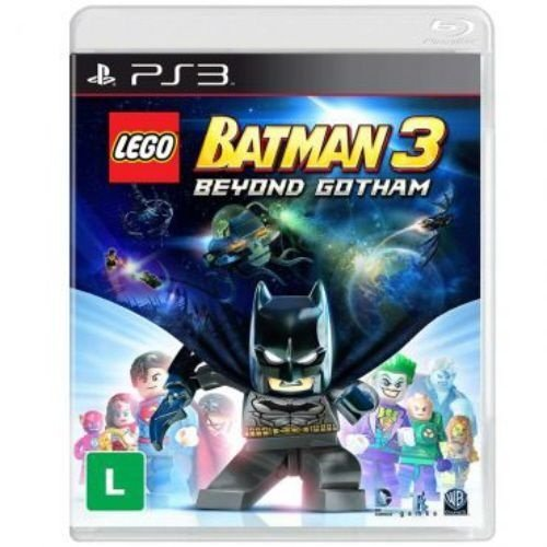 Lego Batman 3: Beyond Gotham - PS3 (usado)