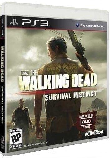 The Walking Dead: Survival Instinct - PS3 (usado)