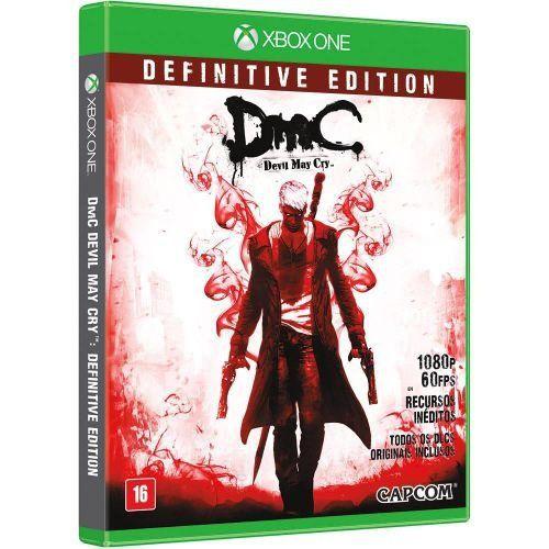DMC Devil May Cry: Definitive Edition - Xbox One (usado)