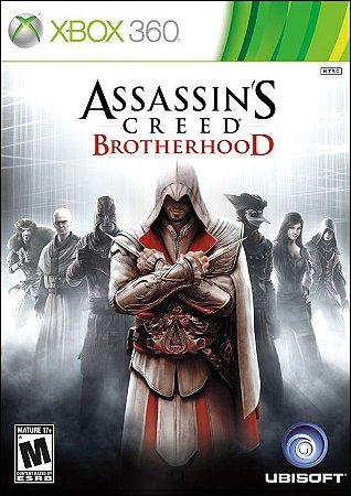 Assassin´s Creed: Brotherhood - Xbox 360 (usado)