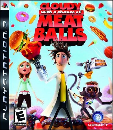 Cloudy With a Chance of Meatballs - PS3 (usado)