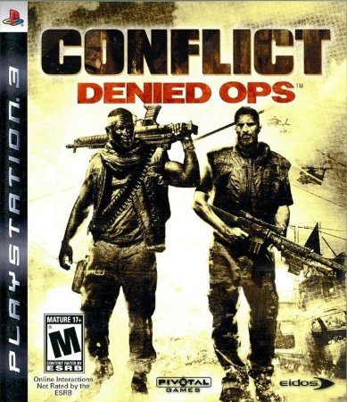 PS3 Conflict Denied Ops (usado)