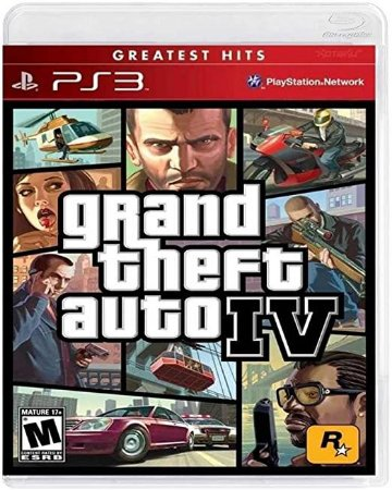 GTA 4 Hits - PS3 (usado)