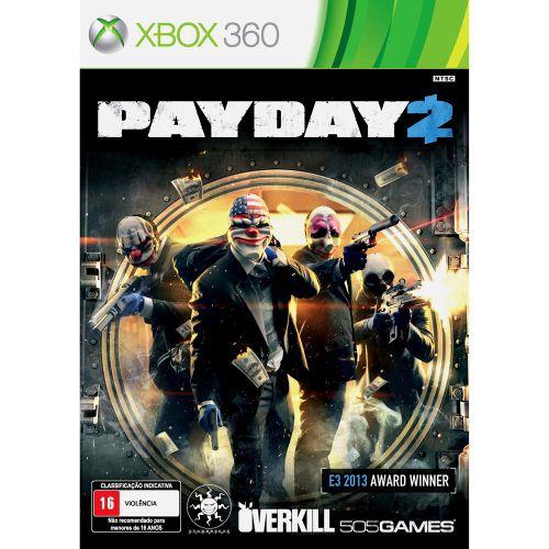Payday 2 - Xbox 360 (usado)