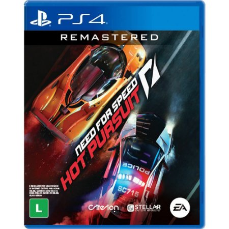 Need For Speed: Hot Pursuit Remasterd - PS4