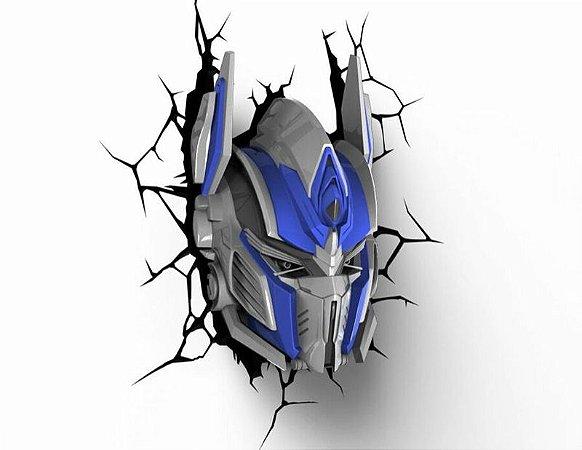 Luminaria Optimus Prime: Transformers - 3D Light FX