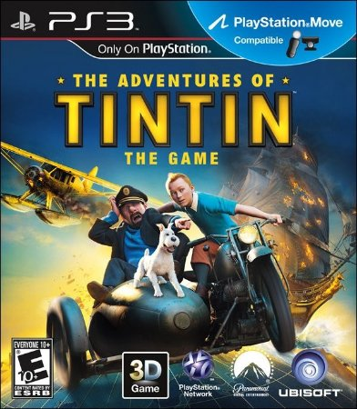 The Adventures of Tintin - PS3 (usado)