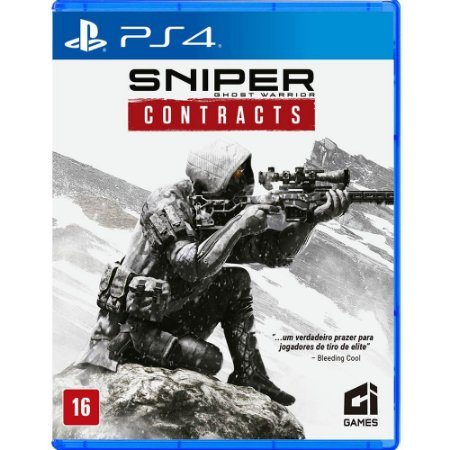 Sniper Ghost Warrior: Contracts - PS4 (usado)