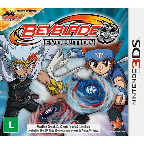Beyblade Evolution - 3DS
