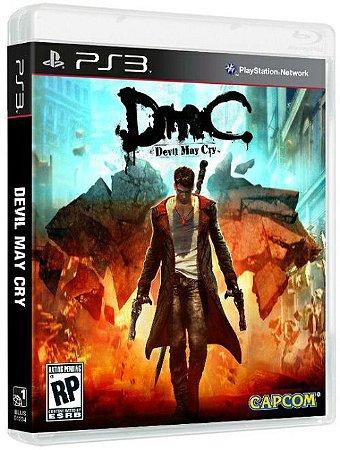 DMC: Devil May Cry - PS3 (usado)