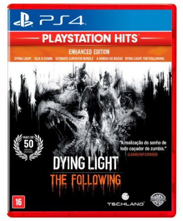 Dying Light: The Following Enhanced Edition Hits - PS4 (usado)