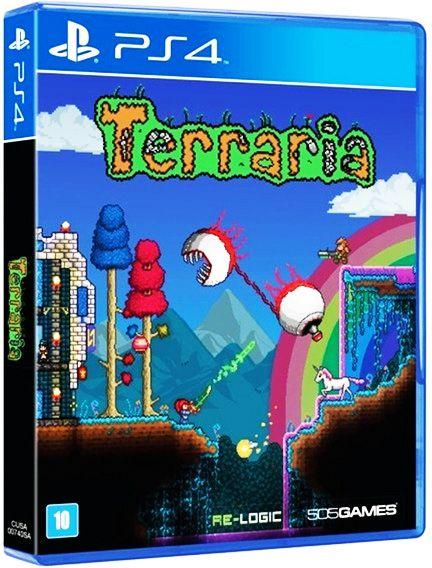 Terraria - PS4 (usado)
