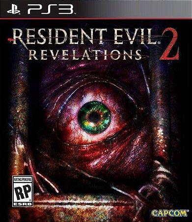 RESIDENT EVIL REVELATIONS 2 USADO (PS3)