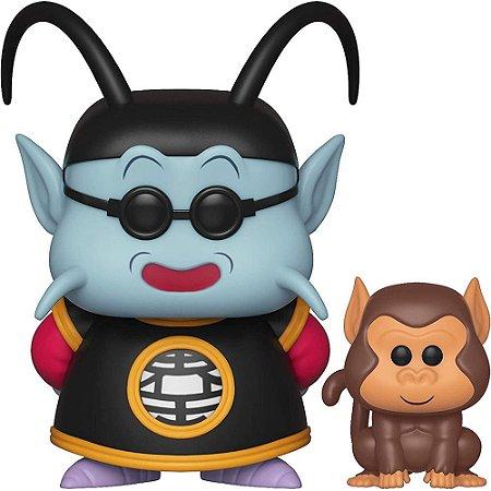 King Kai e Bubbles: Dragon Ball Z - Funko POP 532
