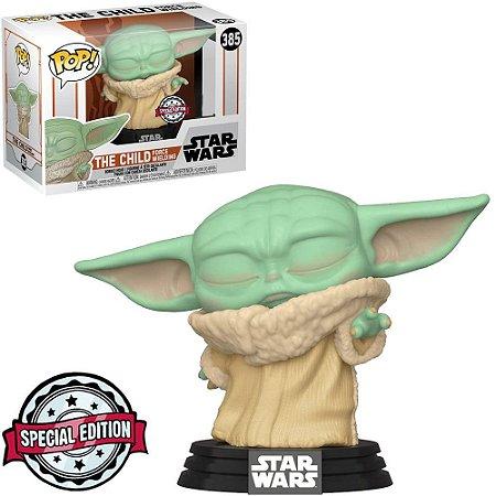 The Child Force Wielding: Bobble Head Star Wars - Funko POP 385