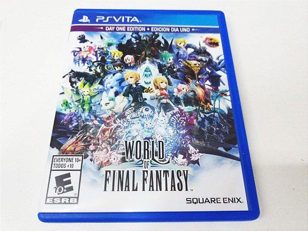 World of Final Fantasy - PS Vita (usado)