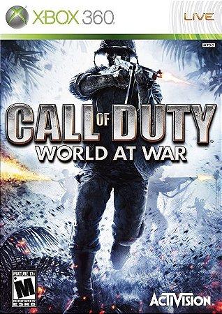 X360 Call of Duty - World At War (usado)