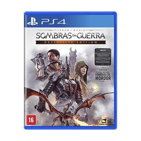 Terra Média Sombras da Guerra: Definitive Edition - PS4