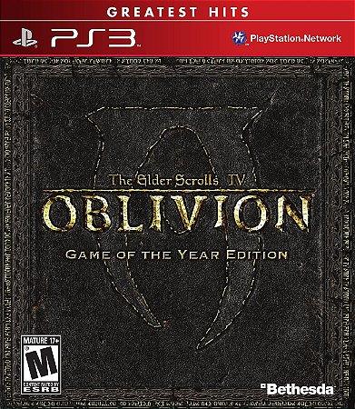 The Elder Scrolls IV: Oblivion Goty Edition Hits - PS3 (usado)