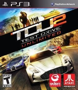 Test Drive: Unlimited 2 - PS3 (usado)