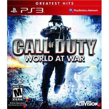 Call of duty: World At War Hits - PS3 (usado)
