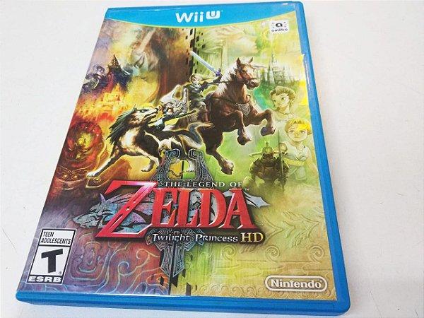 The Legend of Zelda: Twilight Princess - Wii U (usado)