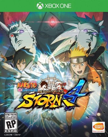 XONE Naruto Shippuden - Ultimate Ninja Storm 4