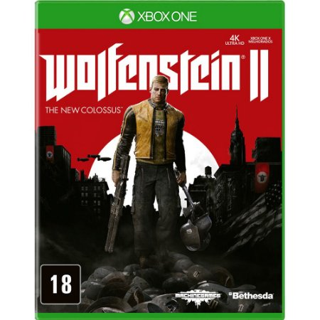 Wolfenstein 2: The New Colossus - Xbox One (usado)
