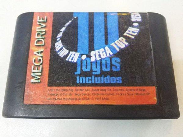 Sega Top Ten - Mega Drive (usado)