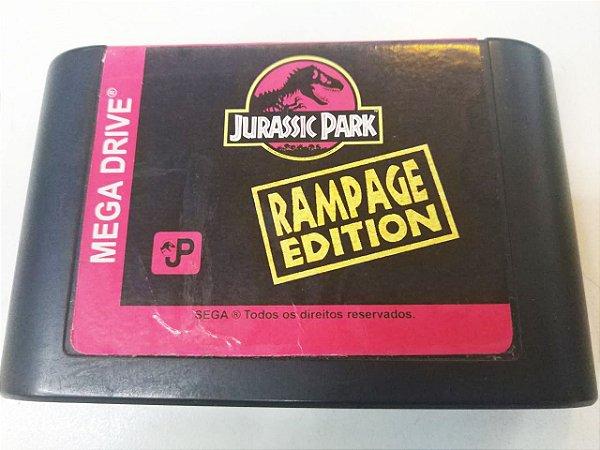 Jurassic Park: Rampage Edition - Mega Drive (usado)