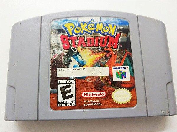 Pokemon Stadium - N64 (usado)