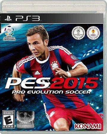 PES 2015: Pro Evolution Soccer - PS3