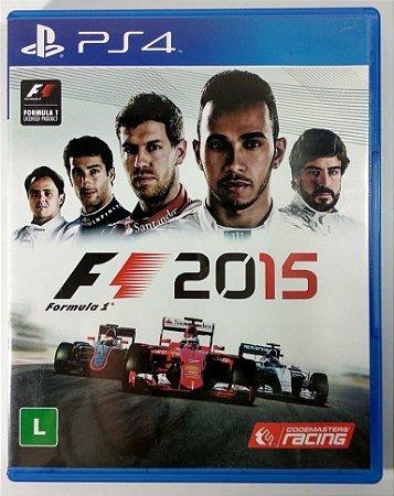 Formula 1 2015 - PS4 (usado)