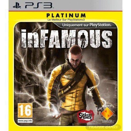 Infamous Platinum - PS3 (usado)