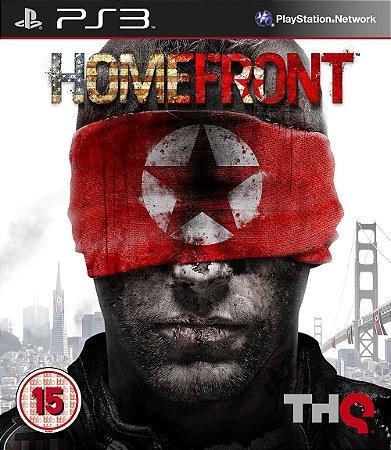 Homefront Europeu - PS3 (usado)