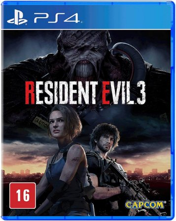 Resident Evil 3 - PS4 (usado)
