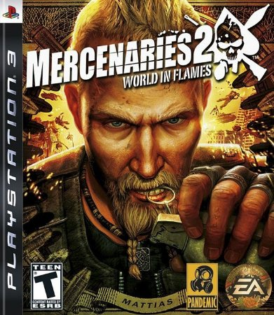 Mercenaries 2: World in Flames - PS3 (usado)