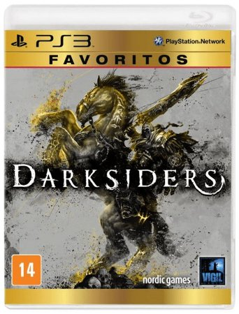 Darksiders Favoritos - PS3 (usado)