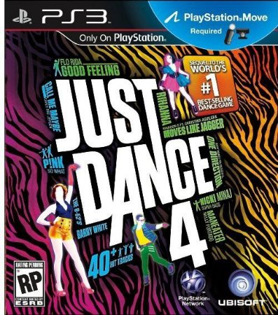 Just Dance 4 - PS3 (usado)