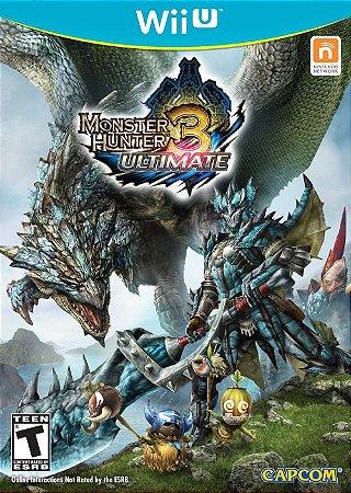 Monster Hunter 3: Ultimate - Wii U (usado)