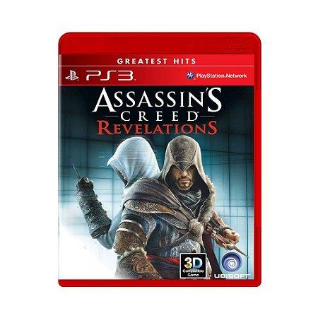 Assassin´s Creed: Revelations Hits - PS3 (usado)