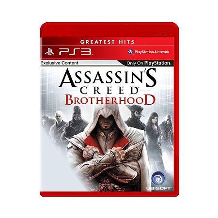 Assassin´s Creed: Brotherhood Hits - PS3 (usado)